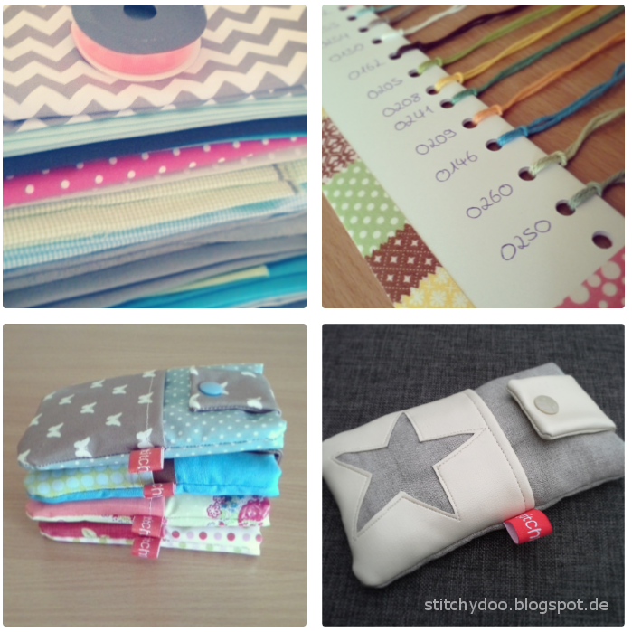 Wochenendrückblick: Neuer Stoff, DIY Garnkarte, Handytaschen, stitchydoo Shop