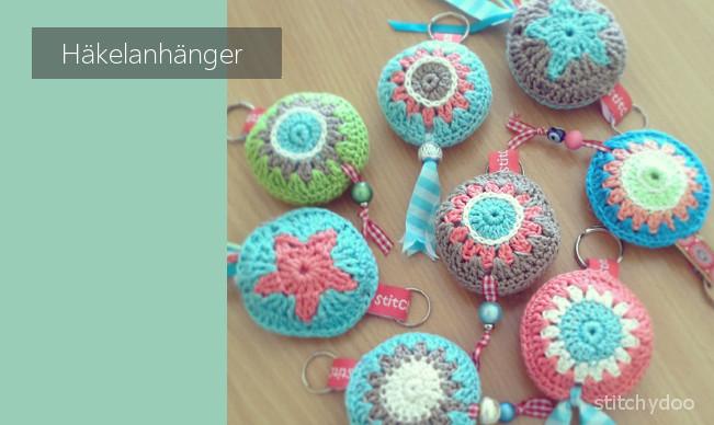 gehäkelte Schlüsselanhänger / Taschenbaumler, crochet key chains