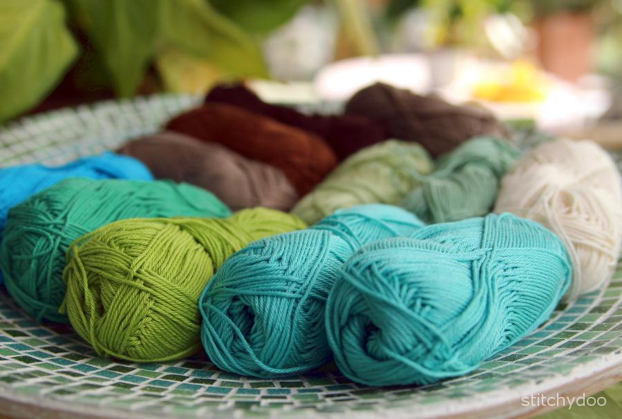 Häkeldecke - Wollauswahl | crochet blanket - yarn selection