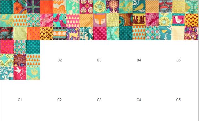 Blog-Designwand für Quilts und Co