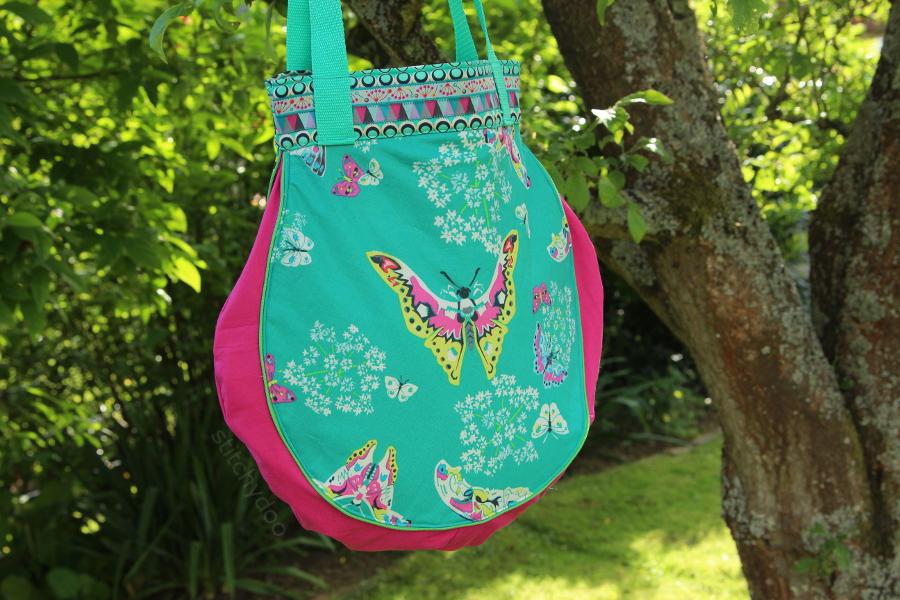 Taschenspieler 2 Sew Along | Tropfentasche von stitchydoo