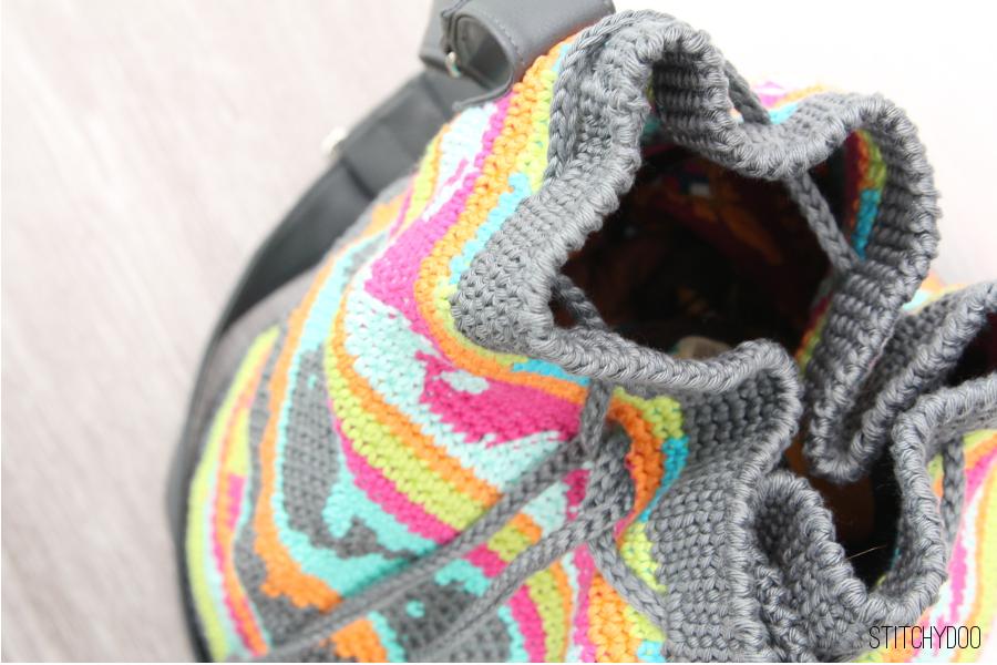 stitchydoo: Taschen Crochetalong | Meine gehäkelte Tapestry-Tasche