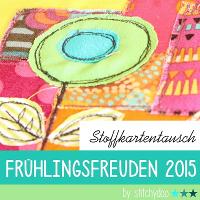 "Stoffkartentausch ""Frühlingsfreuden"" 2015"