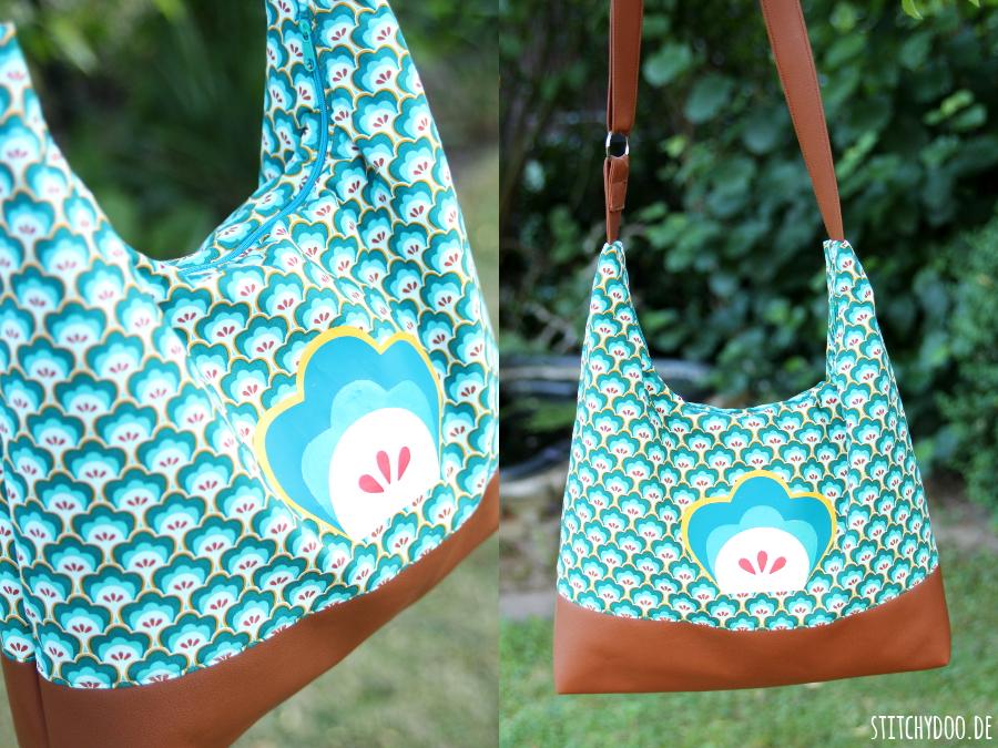 stitchydoo: AllesDrin-Tasche von Farbenmix meets Seashore Shelly