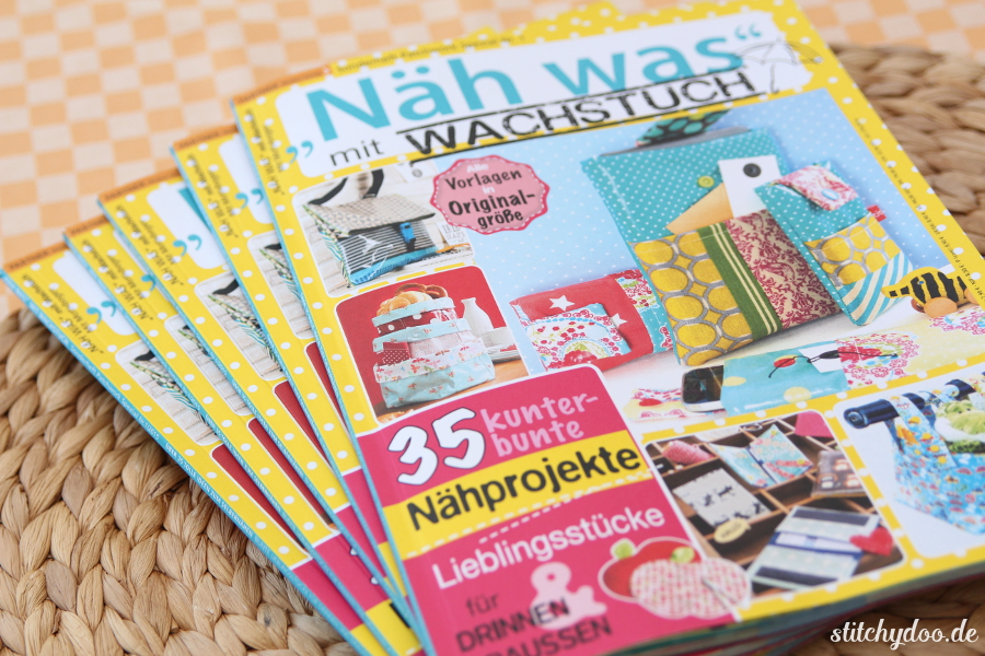 """stitchydoo: Meine Nähanleitung für Handy- und eReader-Taschen im Patchwork Spezial Sonderheft """"Näh was mit Wachstuch"""""""