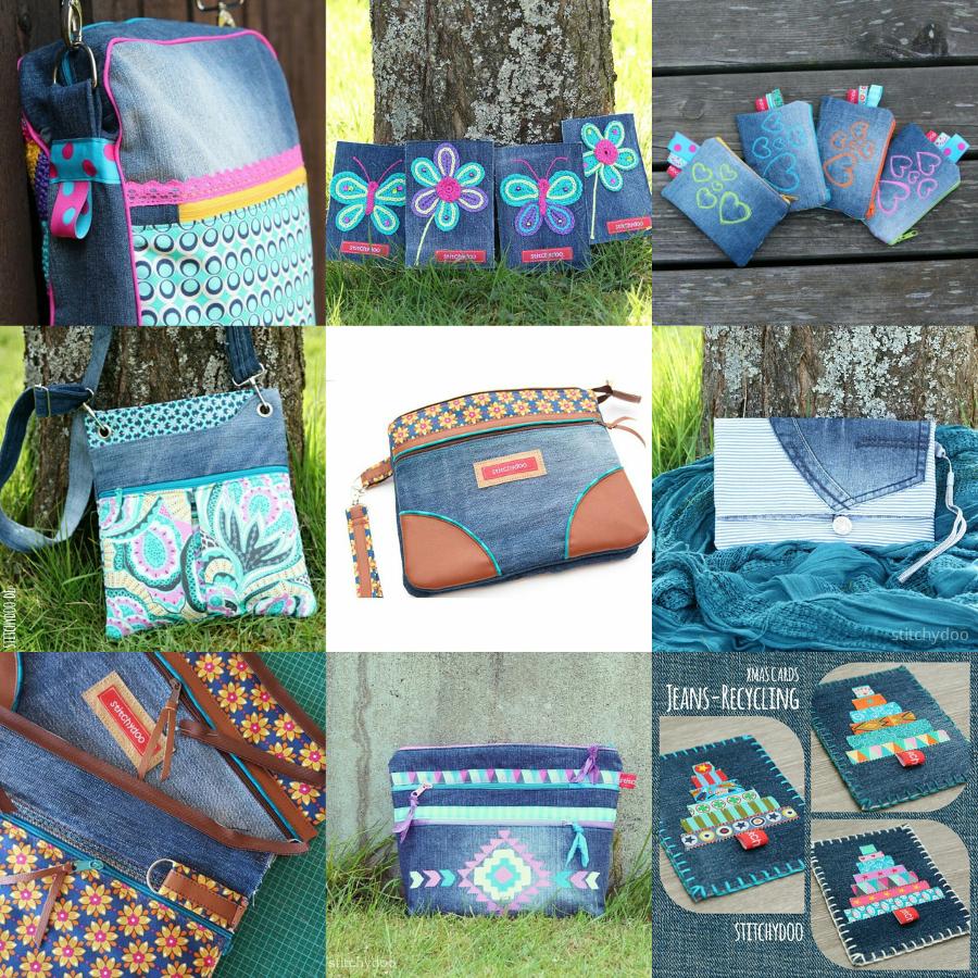 stitchydoo: Jeans-Recycling Ideen und Projekte