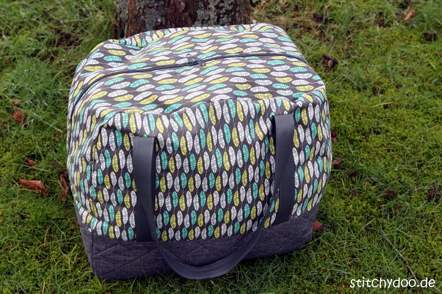 stitchydoo: Taschenspieler 3 Reisetasche - Let's go!