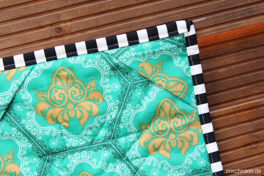 stitchydoo: Ananas Mini Quilt   Jeans-Recycling trifft Patchwork {Foundation Paper Piecing Freebie}