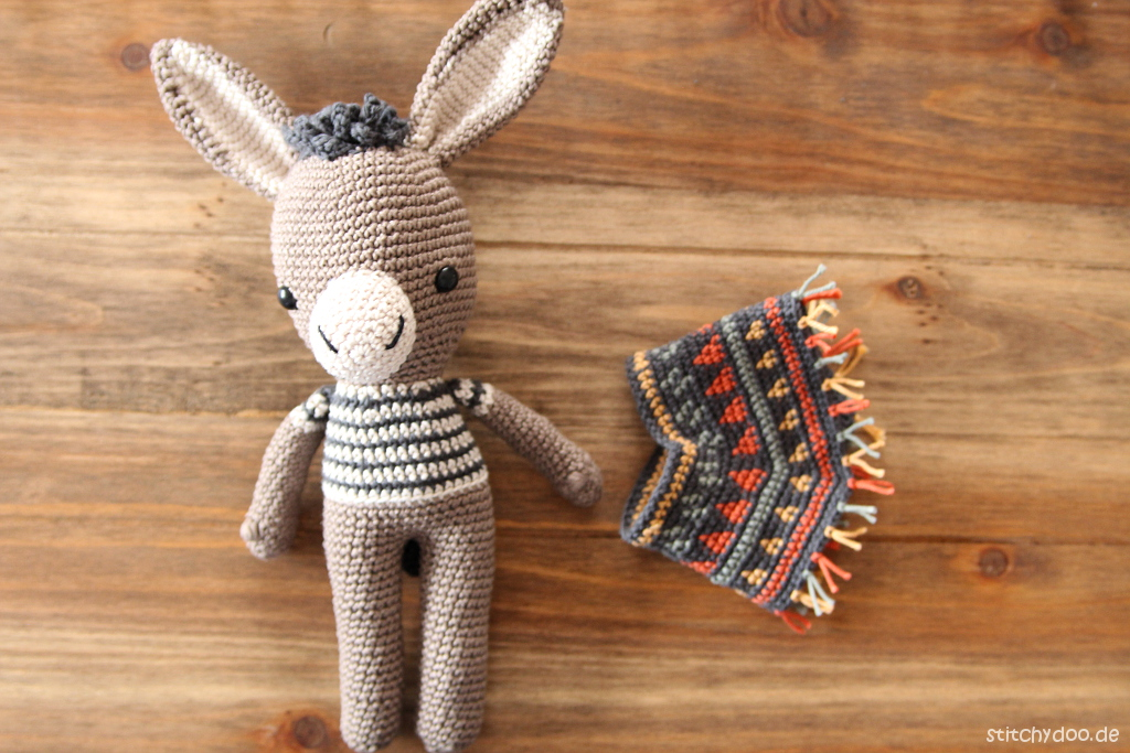 stitchydoo: Animal Friends of Pica Pau | Esel Ramón - Olé!
