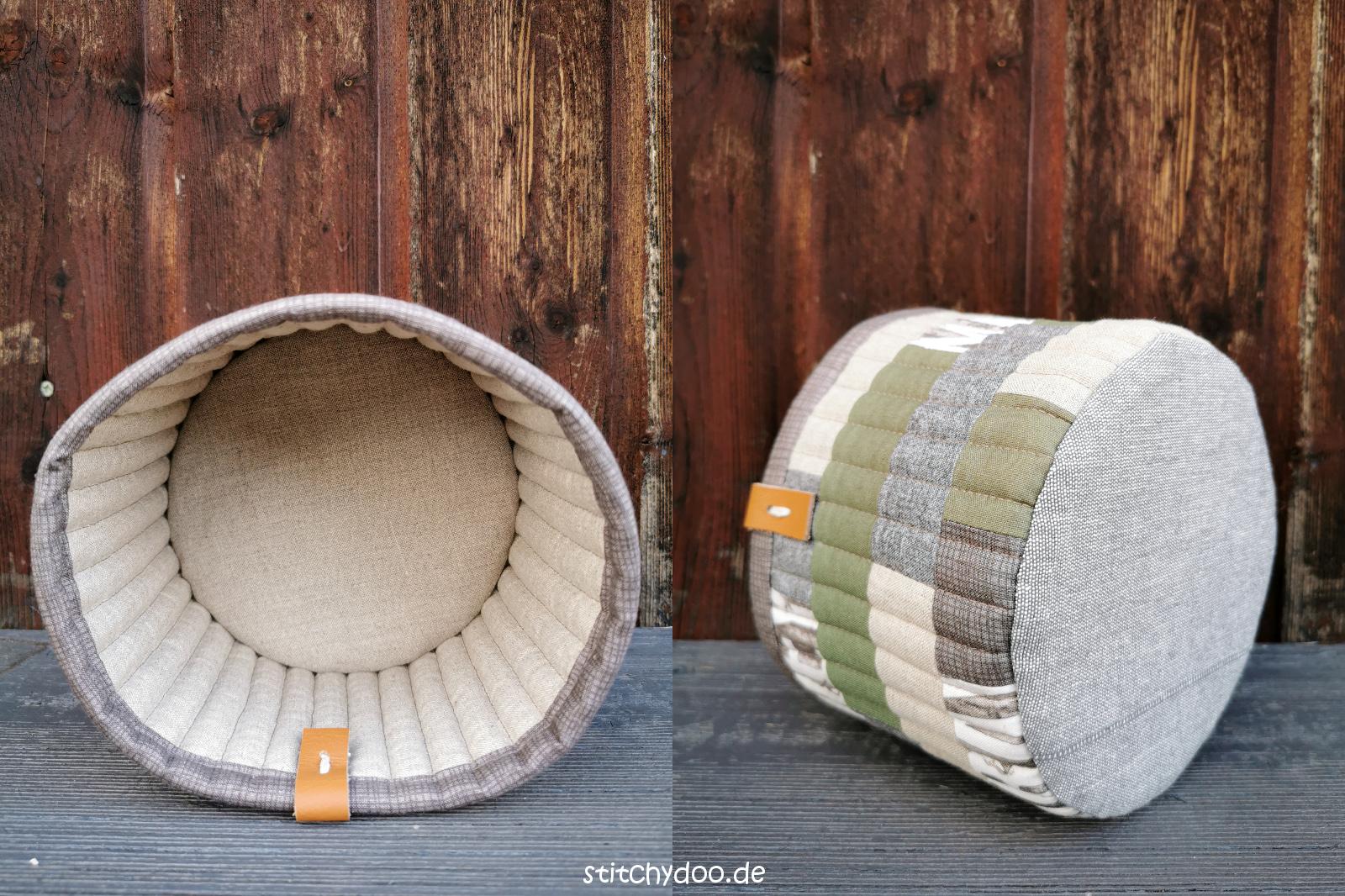 Tub Family Stoffkörbchen aus Stoffresten