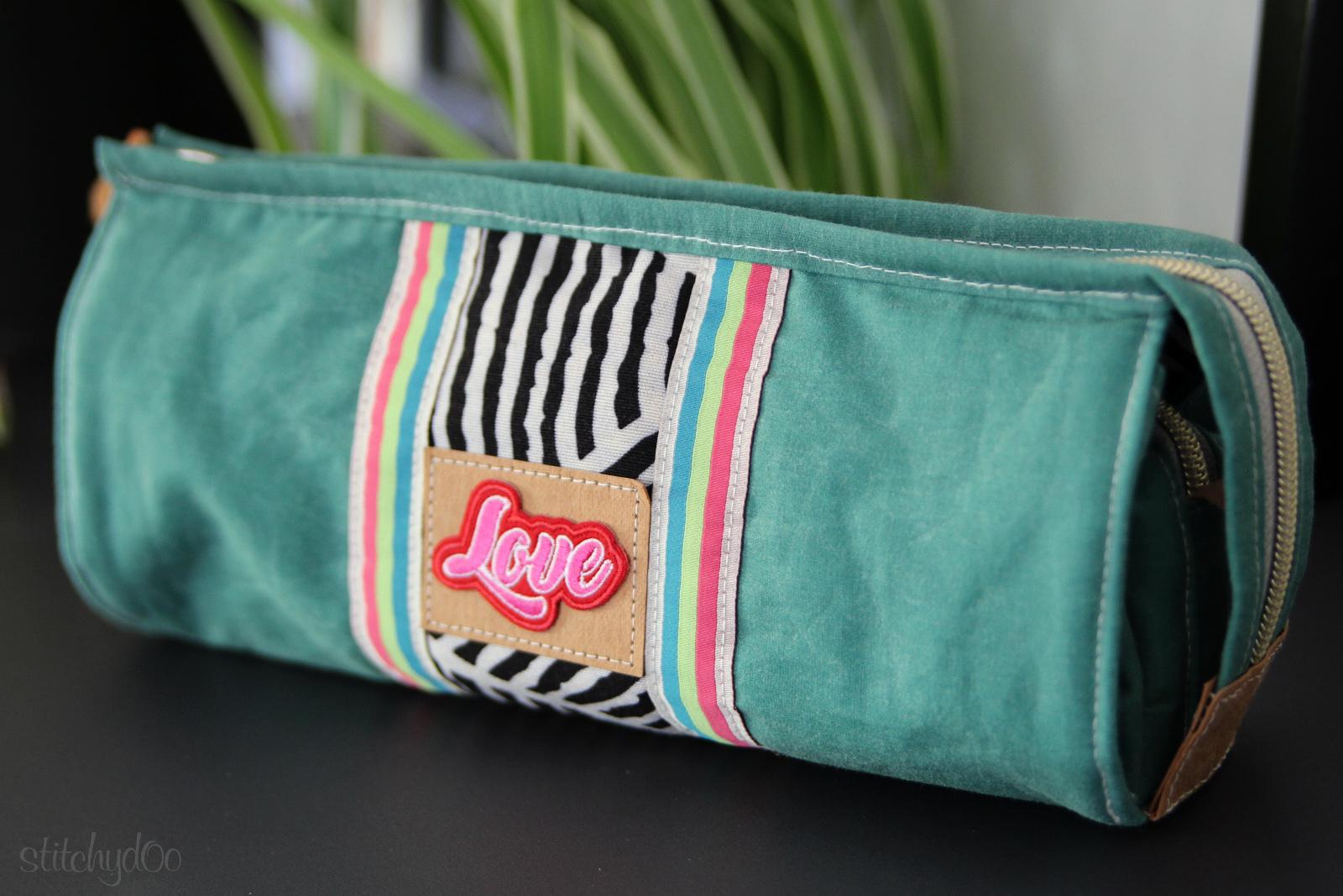 stitchydoo: Tasche L.A. von EllePuls aus Oilskin