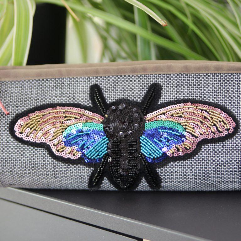 stitchydoo: Tasche L.A. von EllePuls mit Pailletten-Applikation