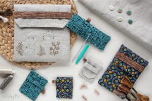 stitchydoo: Täschchen Kiss von greenfietsen - Schlaufentaschen in 5 praktischen Größen