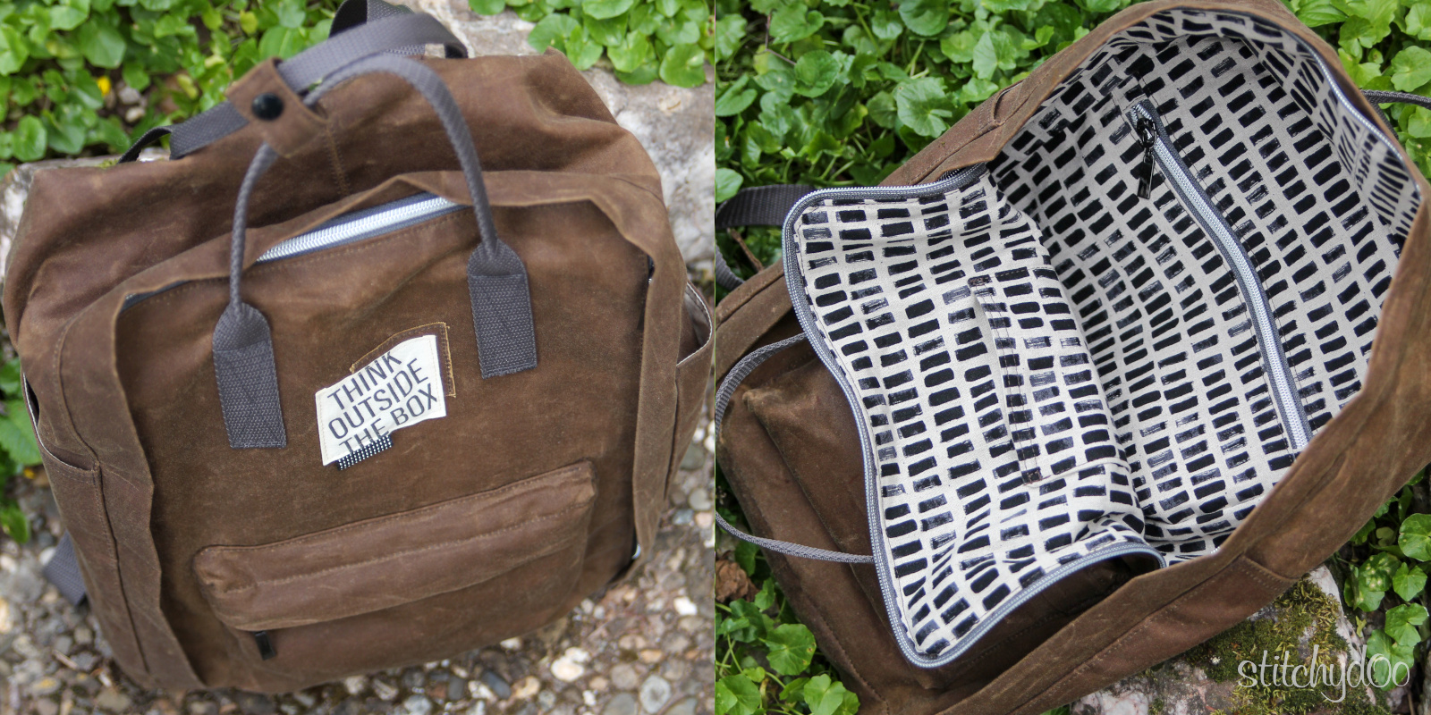 Der andere Rucksack - Think outside the box